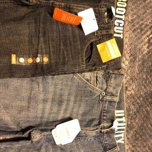 2 pair Gymboree jeans size 8